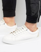G-star Stanton Low Trainers In White