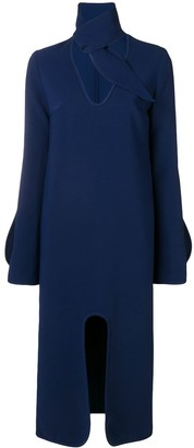 Ellery Beatification midi dress