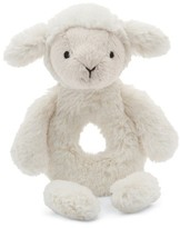 Jellycat Infant Bashful Lamb Grabber Rattle