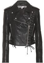 McQ by Alexander McQueen Leather biker jacket
