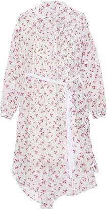 Loewe Flower Print Shirtdress