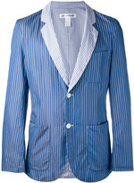 Comme des Garcons striped blazer - men - Cotton - M