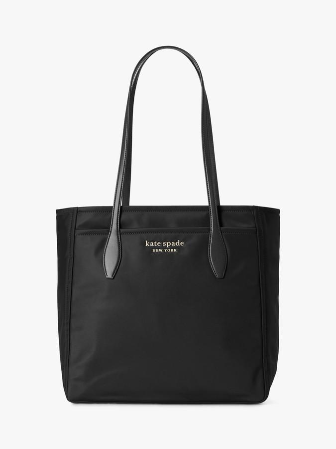 Kate Spade Nylon Large Tote Bag, Black