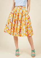 Hell Bunny Ain't That the Fruit? A-Line Skirt in Apples in XS