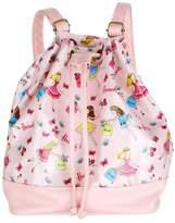 Harrods Flower Girls Drawstring Backpack