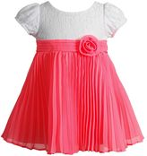 Youngland Baby Girl Pleated Dress