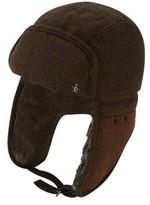 Original Penguin Men's Wool Herringbone Trapper Hat