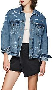 Couture Forte Dei Marmi Women's Tokyo Embellished Denim Jacket - Dk. Blue