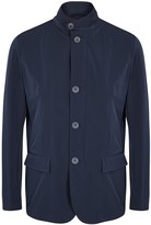Herno Navy Stretch Shell Jacket