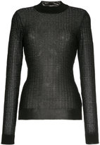 Roland Mouret metallic fitted jumper