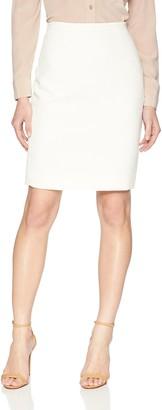 Calvin Klein Women's Straight Textured Skirt
