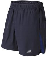 """New Balance Men's MS63918 7"""" Woven Run Short"""