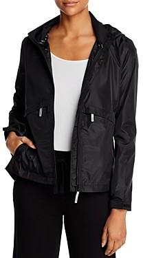 Andrew Marc Hooded Windbreaker Jacket
