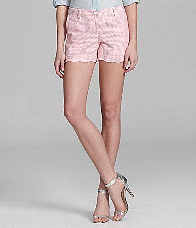 Cremieux Paige Seersucker Shorts