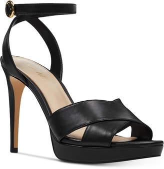 Nine West Quisha Platform Sandals Women Shoes