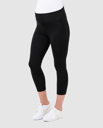 Ripe Maternity Basic 3/4 Leggings