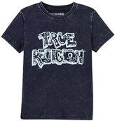 True Religion Washed Down Tee Shirt (Toddler/Kid) - Midnight - 7