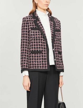 Claudie Pierlot Violaine tweed blazer