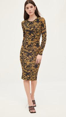 Versace Jeans Couture Paisley Print Dress