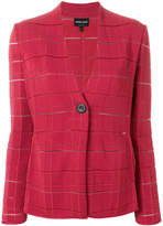 Giorgio Armani ribbed button up jacket