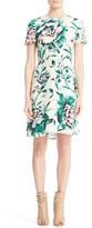 Burberry Women's Sam Floral Print Silk Dress