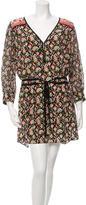 Veronica Beard Venice Ikat Print Dress