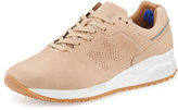 New Balance Leather Low-Top Sneaker, Tan