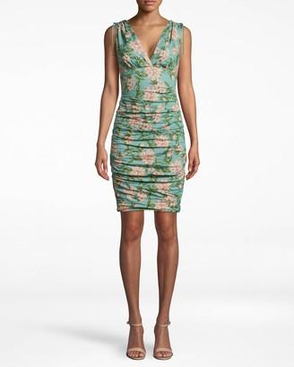 Nicole Miller Spring Dream Tuck Dress