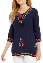 Westbound Petites Bell Sleeve Tunic