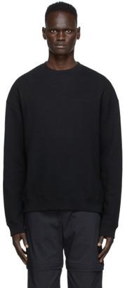 A-Cold-Wall* Black Bracket Logo Sweatshirt