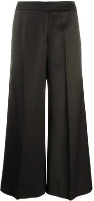Pt01 Black Palazzo Trousers