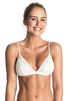 Roxy Women's Cozy and Soft Fixed Triangle Bikini Top