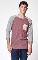 On The Byas Javier 3/4 Sleeve Raglan T-Shirt