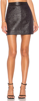 Milly Jacquard Modern Mini Skirt