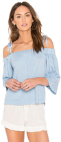 Feel The Piece Sunset Off Shoulder Top