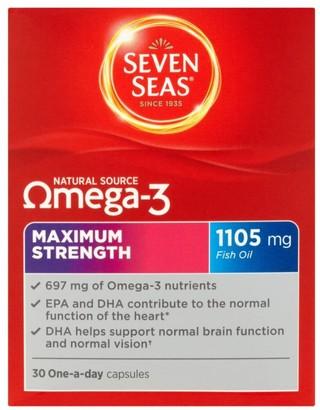 Seven Seas Omega 3 Maximum Strength 30 Capsules