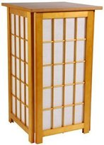 Oriental Furniture Unusual Eclectic Lighting Lanterns, 27-Inch Tall Hokaido Japanese Shoji Lantern Floor Lamp