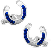 Asstd National Brand Blue Horseshoe Cufflinks