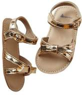 Gap Metallic knot sandals