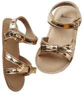 Gap Metallic knot sandals