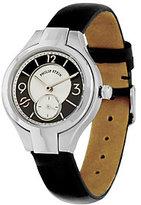 Philip Stein Teslar Black Leather Strap Classic Round Mini Watch
