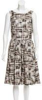 Jason Wu Printed Knee-Length Dress w/ Tags