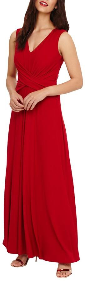 Phase Eight Livi Maxi Dress, Scarlet