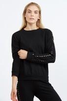 Monrow Vintage Sweatshirt w/ Studs