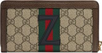 Gucci DIY Ophidia GG zip around wallet