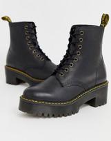 Dr. Martens Shriver Hi Wyoming heeled ankle boots in black