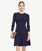 Ann Taylor Petite Flare Sweater Dress