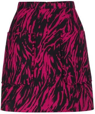 N°21 N 21 Printed short skirt