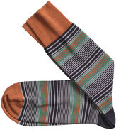 Johnston & Murphy Multi Stripe Socks