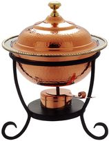 Old Dutch 3-qt. Round Copper Chafing Dish